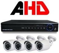 Комплект AHD вибеонаблюдения на 4 камеры