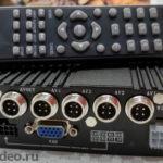 Автомобильный DVR на 4 камеры
