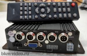 Автомобильный 4-х канальный видеорегистратор